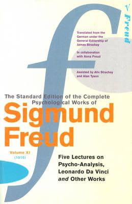 COMPLETE PSYCH.WORKS OF SIGMUND FREUD VOL 11 Paperback