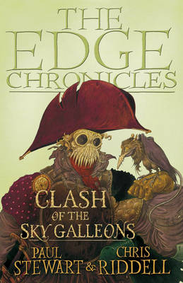 THE EDGE CHRONICLES 3: CLASH OF THE SKY GALLEONS THE QUINT SAGA Paperback B FORMAT