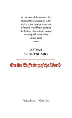 PENGUIN GREAT IDEAS : ON THE SUFFERING OF THE WORLD Paperback A FORMAT