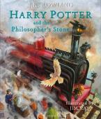 HARRY POTTER AND THE PHILOSOPHER'S STONE ILLUSTRATED ED. HC