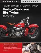 HOW TO REBUILD H-D BIG TWINS 1936 Paperback