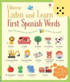 USBORNE : Listen and Learn First Words in Spanish Paperback