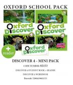 OXFORD DISCOVER 4 PACK MINI (SB + WORKBOOK + READER) - 02153