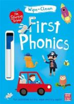 FIRST PHONICS: WIPE-CLEAN BOOK WITH PEN (I'M STARTING SCHOOL)  Paperback