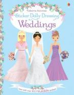 STICKER DOLLY DRESSING : WEDDINGS Paperback