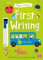 FIRST WRITING: WIPE-CLEAN BOOK WITH PEN (I'M STARTING SCHOOL)  Paperback
