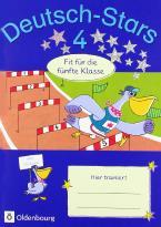 DEUTSCH-STARS 4 Fit für die 5. Klasse