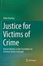 JUSTICE FOR VICTIMS OF CRIME