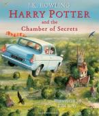 HARRY POTTER AND THE CHAMBER OF SECRETS ILLUSTRATED ED. HC