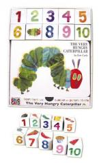 THE VERY HUNGRY CATERPILLAR (BBK WITH NUMBER AND PICTURE BLOCKS) HC BBK BOX SET