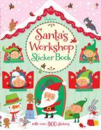 USBORNE : SANTA'S WORKSHOP STICKER BOOK Paperback
