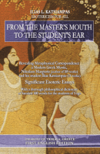 From the Master's mouth to the student's ear