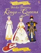 USBORNE ACTIVITIES : STICKER DRESSING KINGS AND QUEENS (+ STICKERS) Paperback