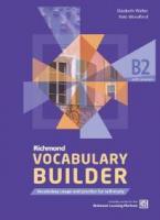 RICHMOND VOCALULARY BUILDER B2 (+ ANSWERS)