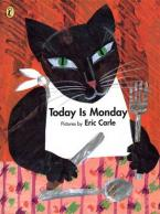 TODAY IS MONDAY(PICTURE PUFFIN) Paperback
