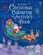 USBORNE : CHRISTMAS COLOURING AND ACTIVITY BOOK Paperback