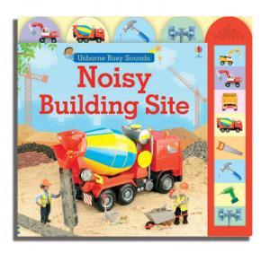 USBORNE BUSY SOUNDS : NOISY BUILDING SITE Paperback A FORMAT