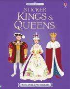STICKER KINGS AND QUEENS  Paperback