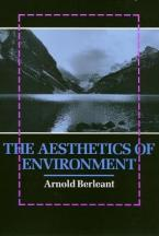 THE AESTHETICS OF ENVIRONMENT  Paperback