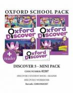 OXFORD DISCOVER 5 PACK MINI (incl. STUDENT'S BOOK + WORKBOOK + READER) - 02207