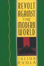 REVOLT AGAINST THE MODERN WORLD HC