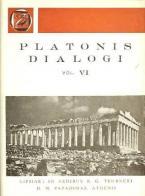 Platonis dialogi, vol. VI (Πλάτωνος διάλογοι, τόμος ΣΤ')