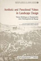 Aesthetic and Functional Values in Landscape Design