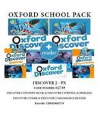 OXFORD DISCOVER 2 PACK PX (Student's Book + Workbook + GRAMMAR + WRITING & SPELLING READER) - 02719