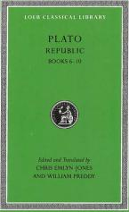 LOEB CLASSIC LIBRARY : REPUBLIC, VOL II BOOKS 6- 10 (BILINGUAL EDITION) HC