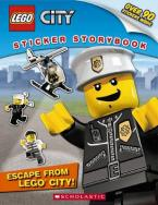 LEGO CITY : ESCAPE FROM LEGO CITY! STICKER STORYBOOK Paperback