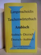 LANGENSCHEIDTS TASCHENWOERTERBUCH ARABISCH-DEUTSCH/DEUTSCH-ARABISCH