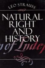 NATURAL RIGHT AND HISTORY Paperback