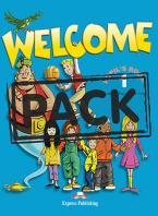 WELCOME 1 STUDENT'S BOOK PACK (+ ALPHABET + DVD)