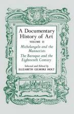 DICUMENTARY HISTORY OF ART VOLUME 2  Paperback