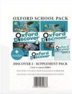OXFORD DISCOVER 2 SUPPLEMENT PACK (Student's Book + Workbook + READER + VOCABULARY & GRAMMAR SUPPLEMENT) - 02863