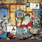 LETTER TO SANTA ADVENT CALENDAR (WITH STICKERS )  HC