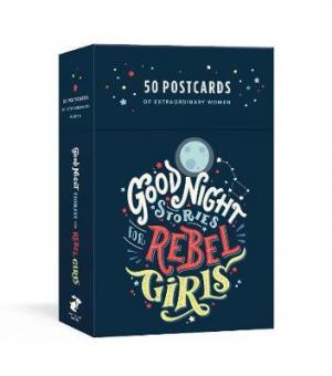 GOOD NIGHT STORIES FOR REBEL GIRLS 50 POSTCARDS