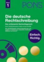 PONS DIE DEUTSCHE RECHTSCHREIBUNG BAND 1 HC
