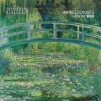 NATIONAL GALLERY-IMPRESSIONISTS WALL CALENDAR 2018 (ART CALENDAR)  CALENDAR