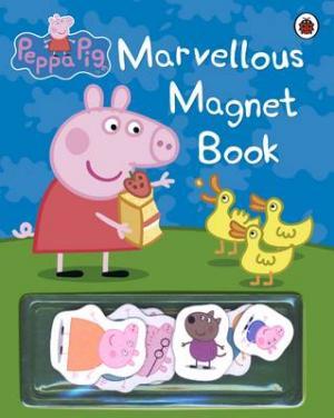PEPPA PIG : MARVELOUS MAGNET BOOK HC