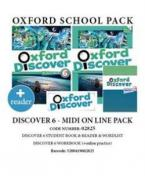 OXFORD DISCOVER 6 PACK MIDI ONLINE (Student's Book + Workbook WITH ONLINE PRACTICE + WORDLIST + READER) - 02825