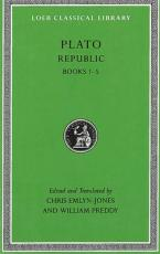 LOEB CLASSIC LIBRARY : REPUBLIC, VOL 1 BOOKS 1- 5 (BILINGUAL EDITION) HC