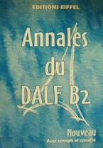Annales du DALF B2