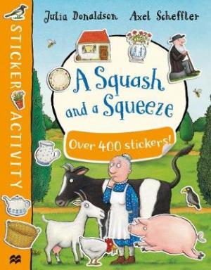 A SQUASH AND A SQUEEZE STICKER BOOK Paperback