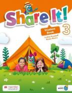 SHARE IT! 3 Student's Book (+ SHAREBOOK & NAVIO APP)
