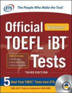 Official TOEFL iBT Tests Volume 1 3RD ED