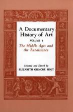 DOCUMENTARY HISTORY OF ART VOLUME 1  Paperback