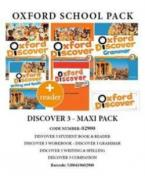 OXFORD DISCOVER 3 PACK MAXI (Student's Book + Workbook + GRAMMAR + COMPANION + WRITING & SPELLING + READER) - 02900