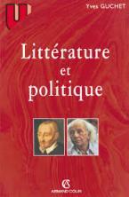 LITTERATURE ET POLITIQUE  POCHE