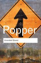 UNENDED QUEST : AN INTELLECTUAL AUTOBIOGRAPHY Paperback